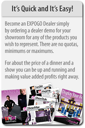 Easy to become EXPOGO dealer